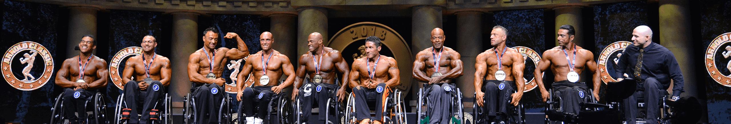Handicap Bodybuilding Competition | Wheelchair Bodybuilding